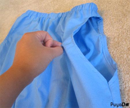 Haku's pants