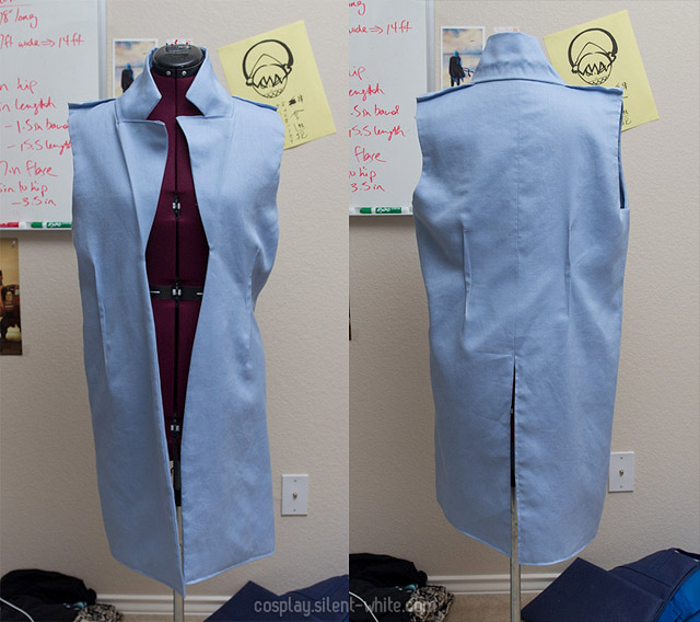 Inside of the jacket - lining side